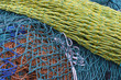 Colorful fishing nets