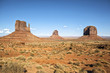view of famous Monument Valley