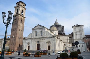 Турин, собор Св. Иоанна Крестителя, хранится туринская плащаница