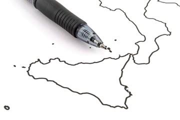 Sicilia - Sud Italia - Progetto regionale