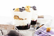 heidelbeeren dessert nahaufnahme