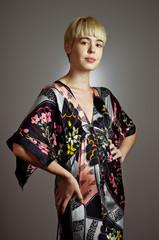 Kimono Girl Portrait