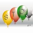 Luftballons stop