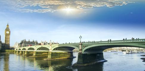 Westminster Bridge and the Big Ben