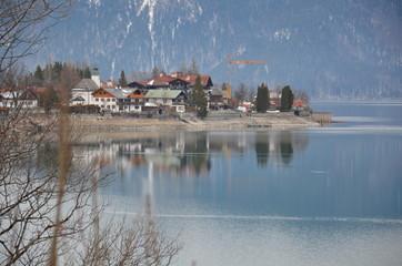 Walchen lake