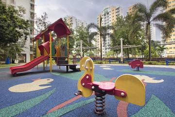Singapore Public Housing Children Playground 2