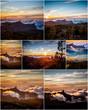 Mountain collage