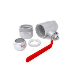 Details of ball valve