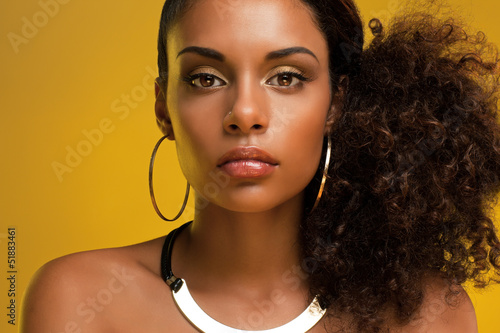 canvas print picture African Beauty