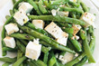 Green beans salad with feta
