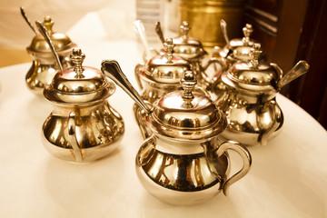 Viennese sugar bowls