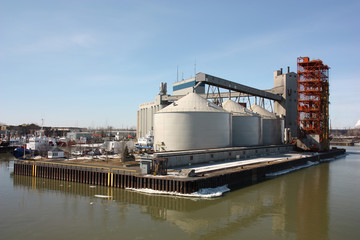 sorel-tracy grain silo