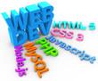 Постер, плакат: Developer tools for HTML CSS website