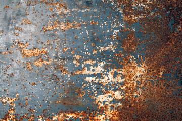 Abstract old rusty metal