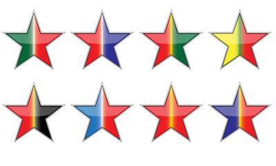 Stella tricolore