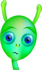 Gloomy Green Alien
