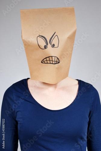 mad person