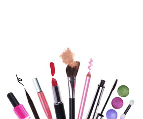 Cosmetics with copyspace