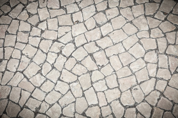 stone block pavement background