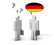 Business German Language Concept