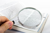 Magnifying Glass and Dictionary