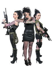 Women with Assault Rifles