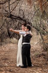 Same Sex Couple Dancing Together
