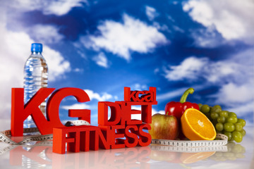 Fitness diet, vitamins