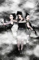 Women with Assault Rifles
