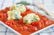 Brennessel Gnocchi mit Tomaten Ragu