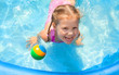 Happy Child Swimming - 51893821