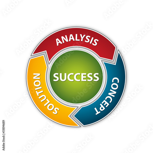 Analysis - Concept - Solution - Success Scheme