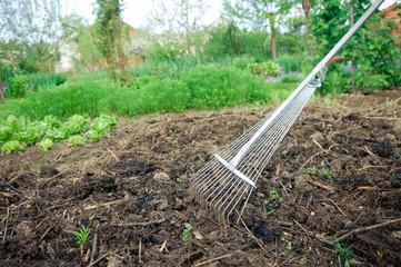 Fertilization with compost