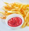 potato with sauce