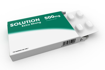 Packet Of Solution Tablets