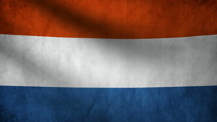 Dutch flag.