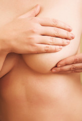 Cancer breast examination