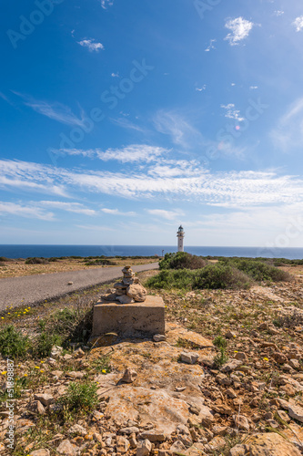 Formentera La Mola lighthouse mediterranean Sea