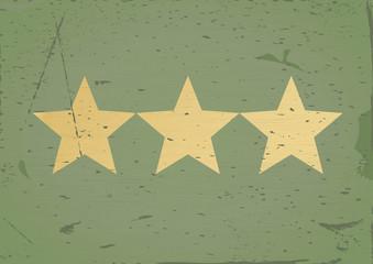 Star sign grunge background