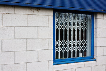 retractable window security gates