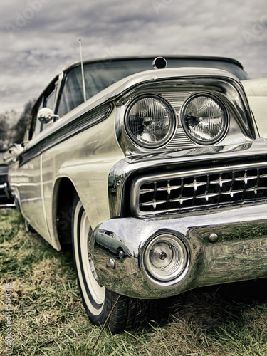 Vintage american limousine