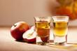 Apfelkorn und Äpfel