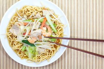 deep-fried noodles