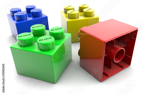 Blocks - colorful