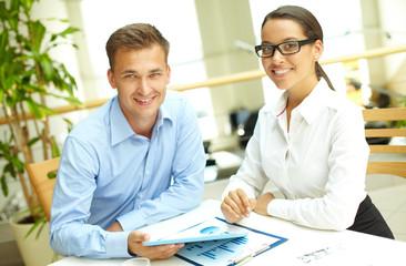 Modern business partners