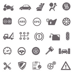 Automotive basic icons