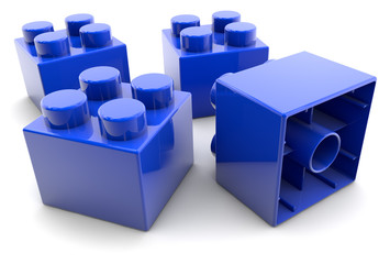 Blocks - blue