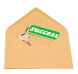Key to success in open envelope