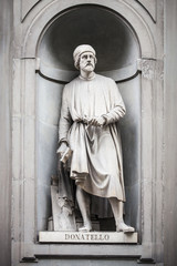 Statua Rinascimento Firenze Uffizi