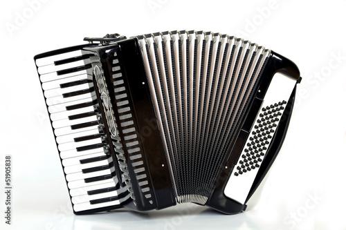Leinwanddruck Bild Ziehharmonika